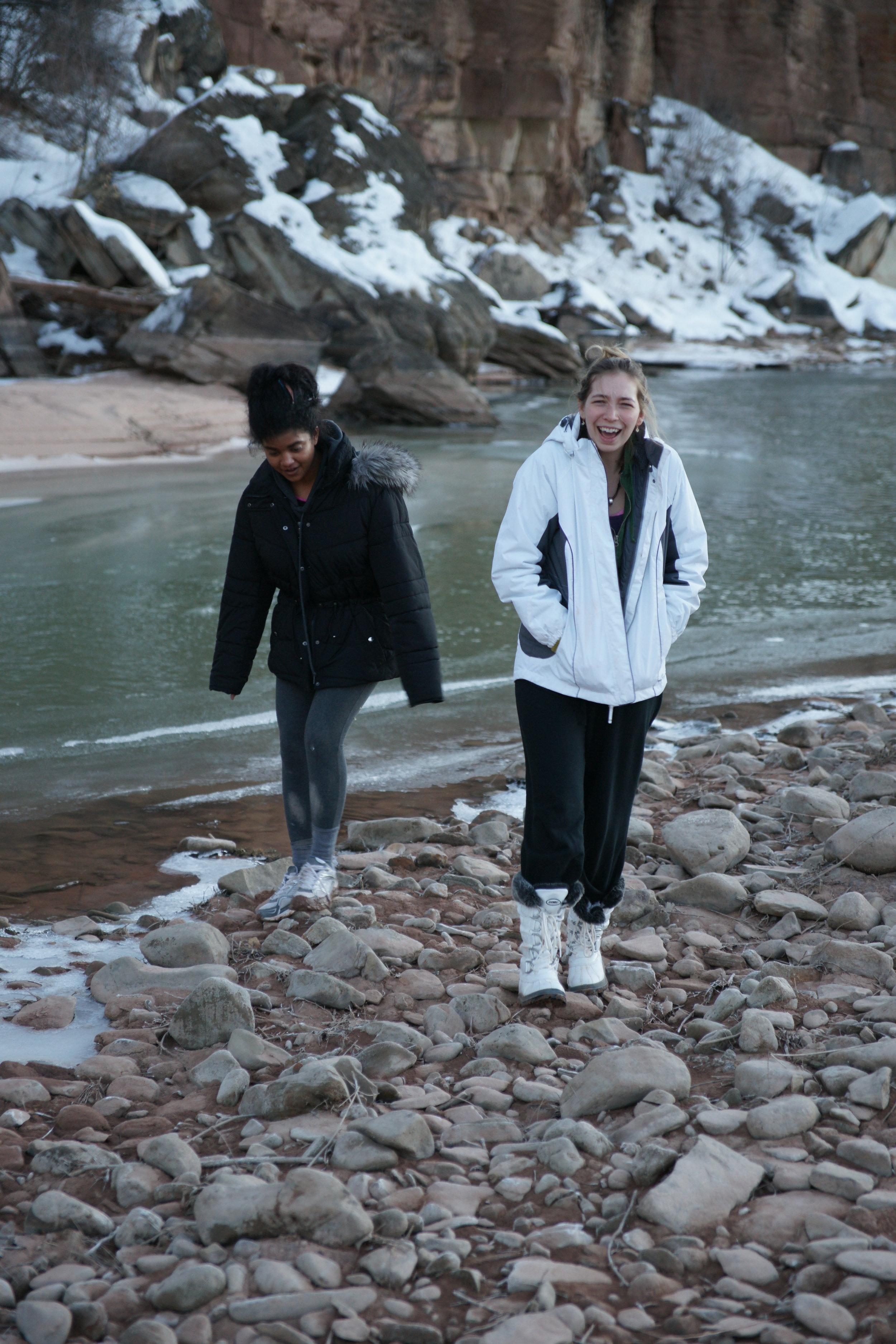 Anjali and Kayla