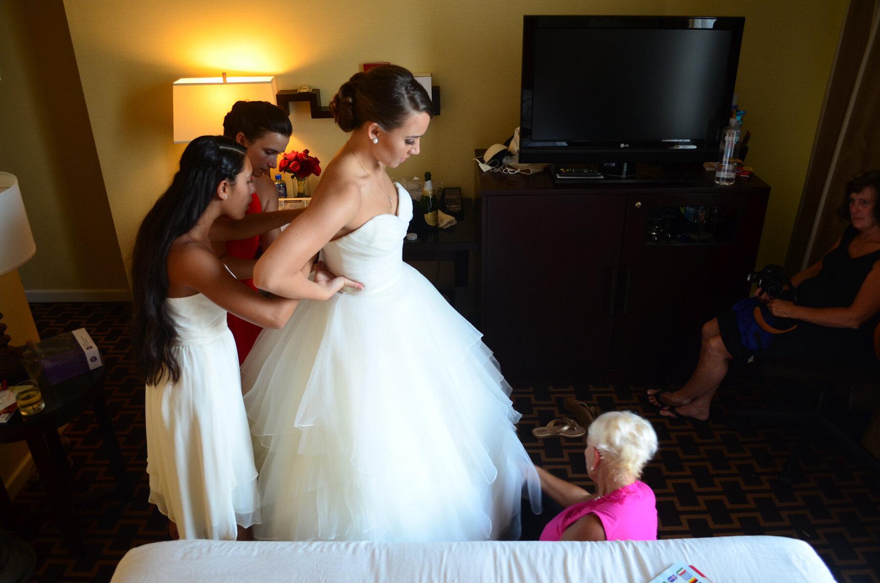 Amanda and Ries' wedding at Hotel Vintage in Portland, Oregon.