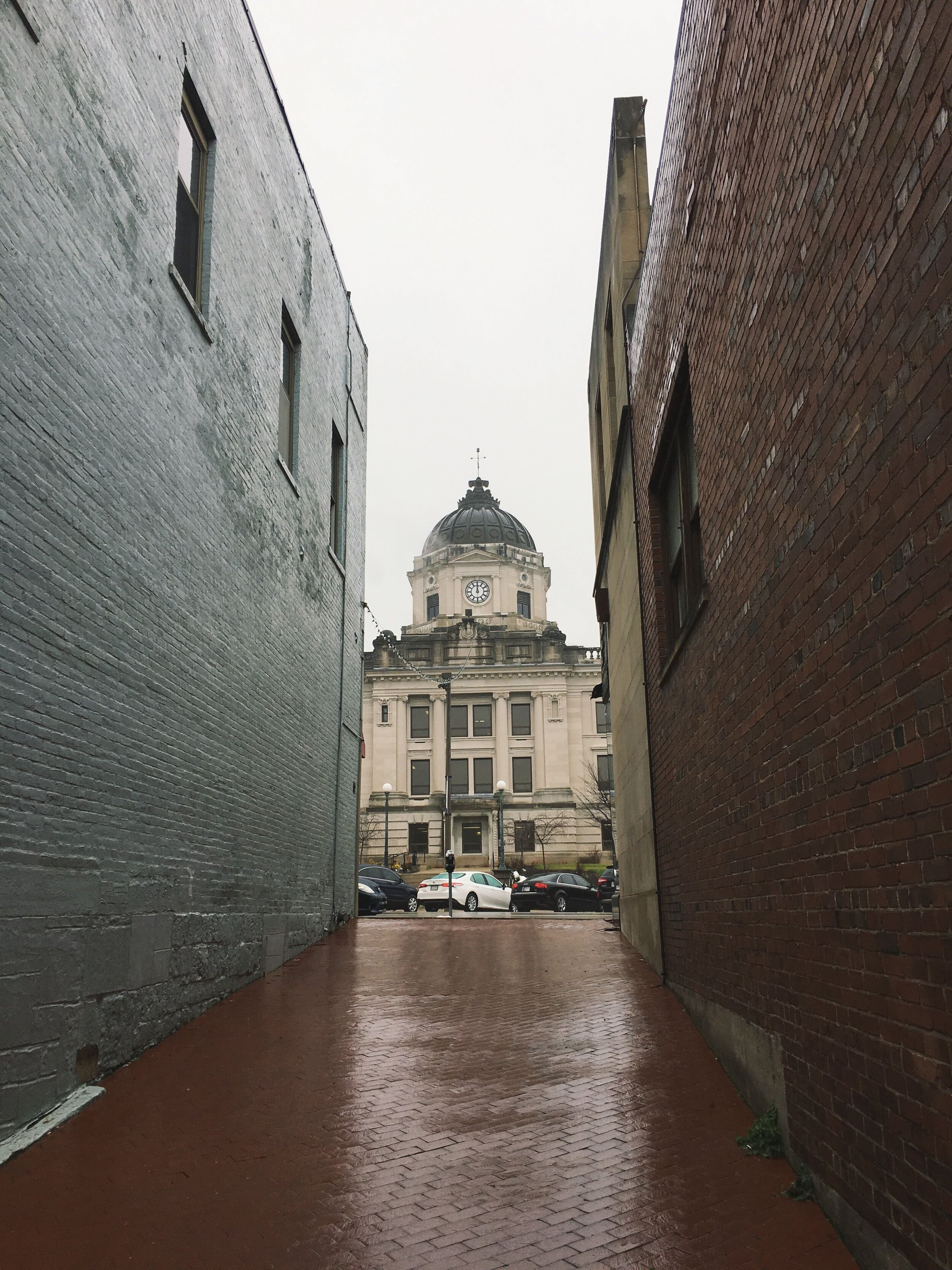 Bloomington, Indiana courthouse.