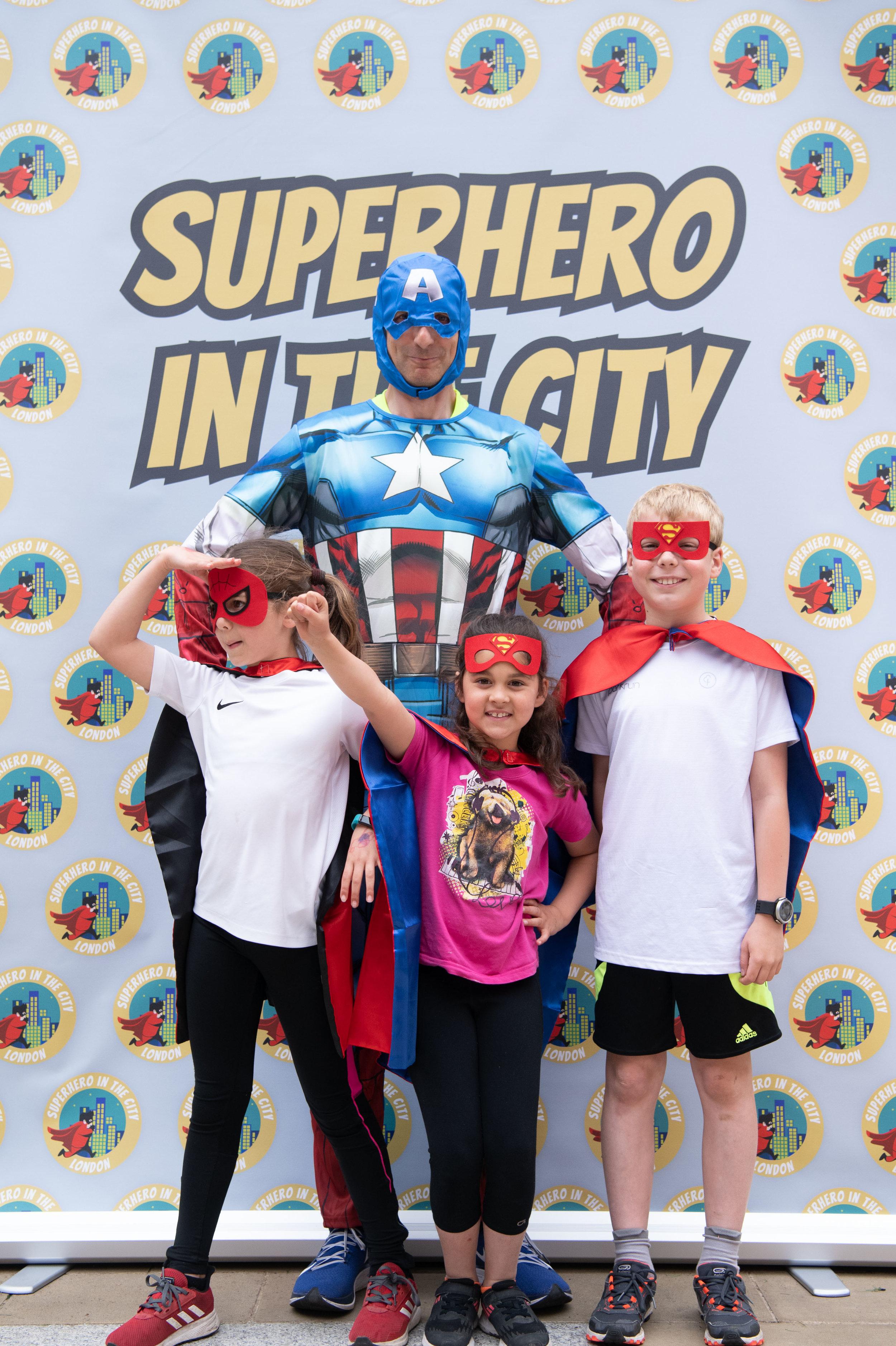 Superhero in the City -