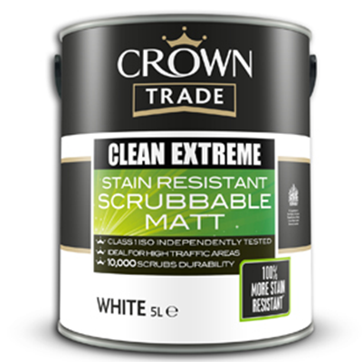 Clean Extreme Stain Resistant Scrubbable Matt