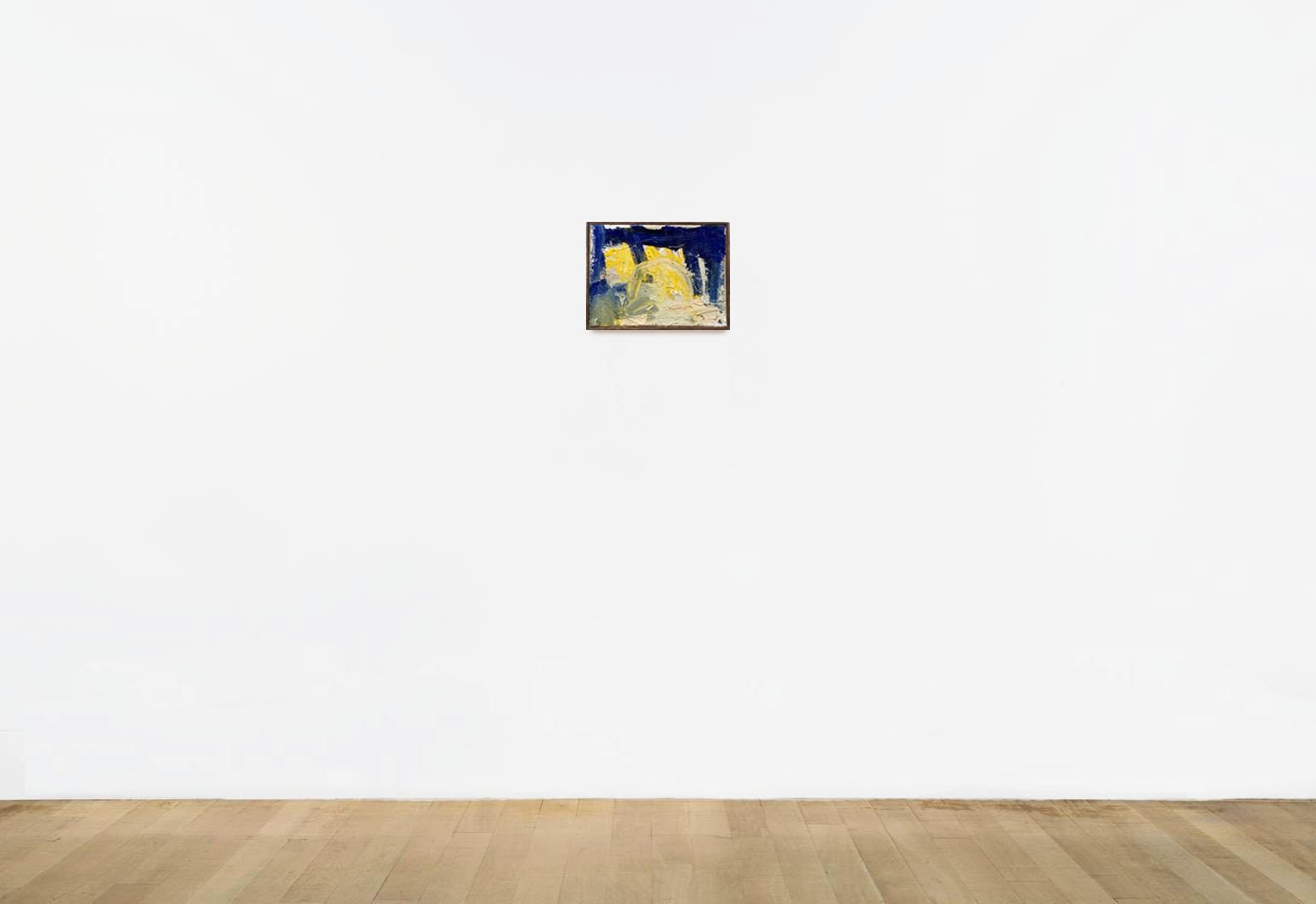 "UNDER THE BRIDGE - 2017Acrylic on canvas, gloss varnish, simple wood frame.12"" x 9"" (30cm x 22cm)•$300Inquire"