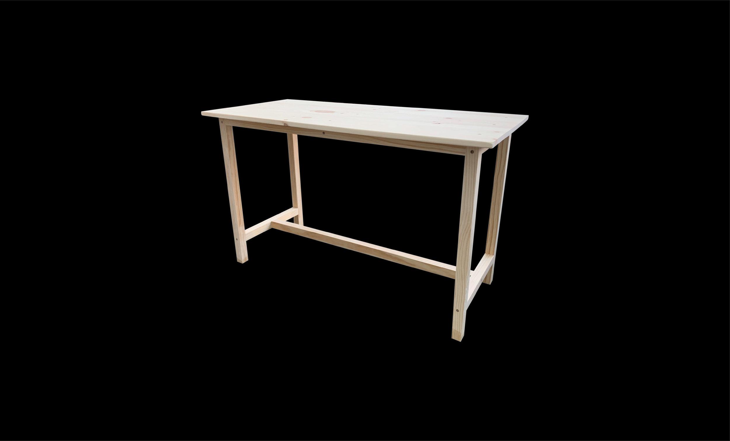 "Reading Desk, 48"" x 24"" x 30"", Pine, 2019"