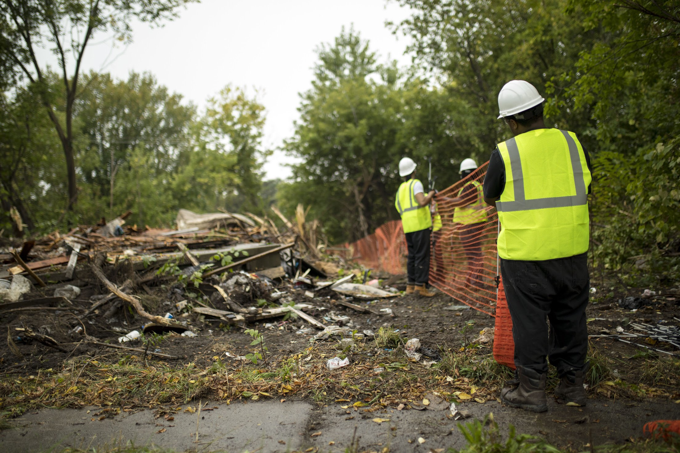 ensure Public safety - Crime has been shown to decrease by 20% as a result of demolition in urban neighborhoods. We are committed to protecting our neighborhoods through our work eliminating blight and reducing the negative effects of blight including violence & crime, fire hazards, and psychological distress.