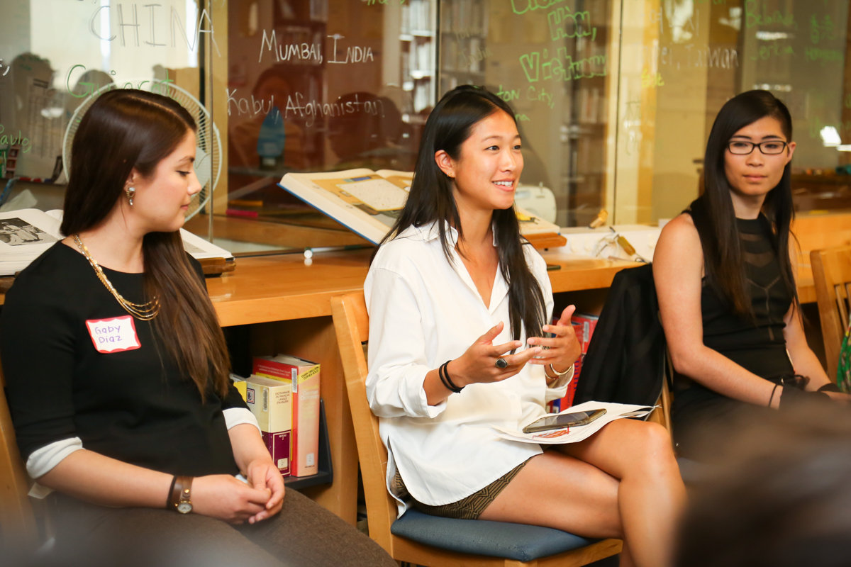 Panelists Gaby Diaz, Jordan Tse, and Lily Zheng discuss overcoming obstacles in their careers.