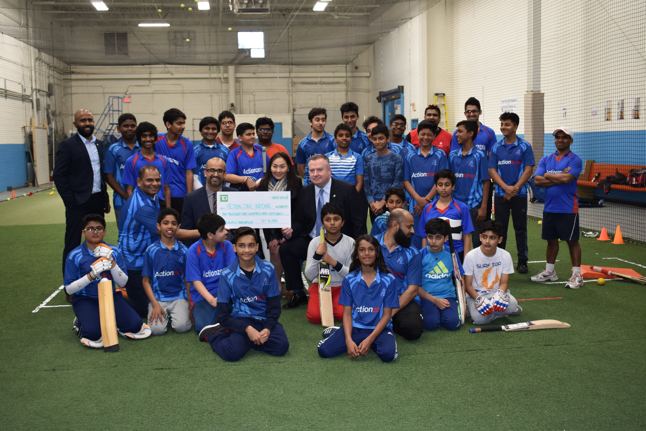 TD Bank supporting kids the opportunity to learn Cricket