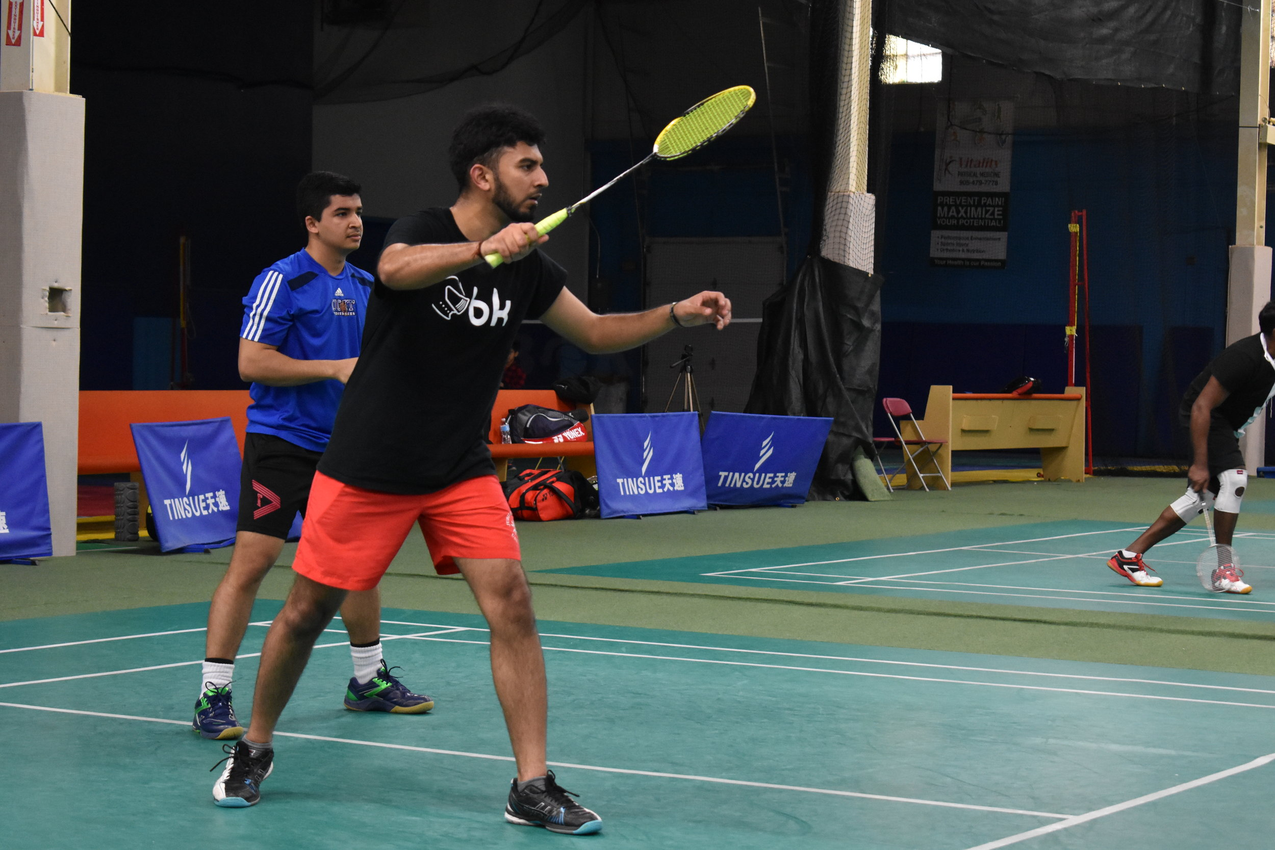Actionzone Badminton Tournament