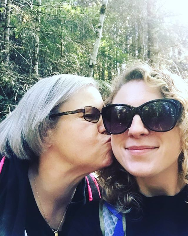 God bless this woman for the life she gave me. Love you Momma 🖤  #rosecoloredshades #mother #nolovelikeamotherslove #daughter #family #easter #happyeaster #livingmybestlife #grateful