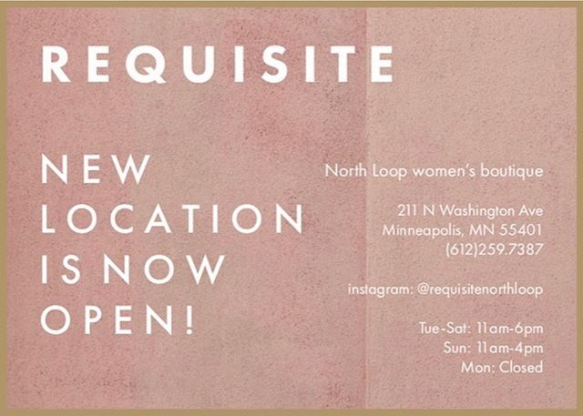 New stockist alert! Find a curated selection of J.LUX pieces now @requisitenorthloop. ————— #requisitestyle #northloopmpls #northloopretail #jluxjewelry #mnartist  #minneapolisjewelry