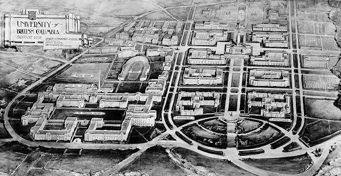 Sharp and Thompson, Campus Plan, 1914