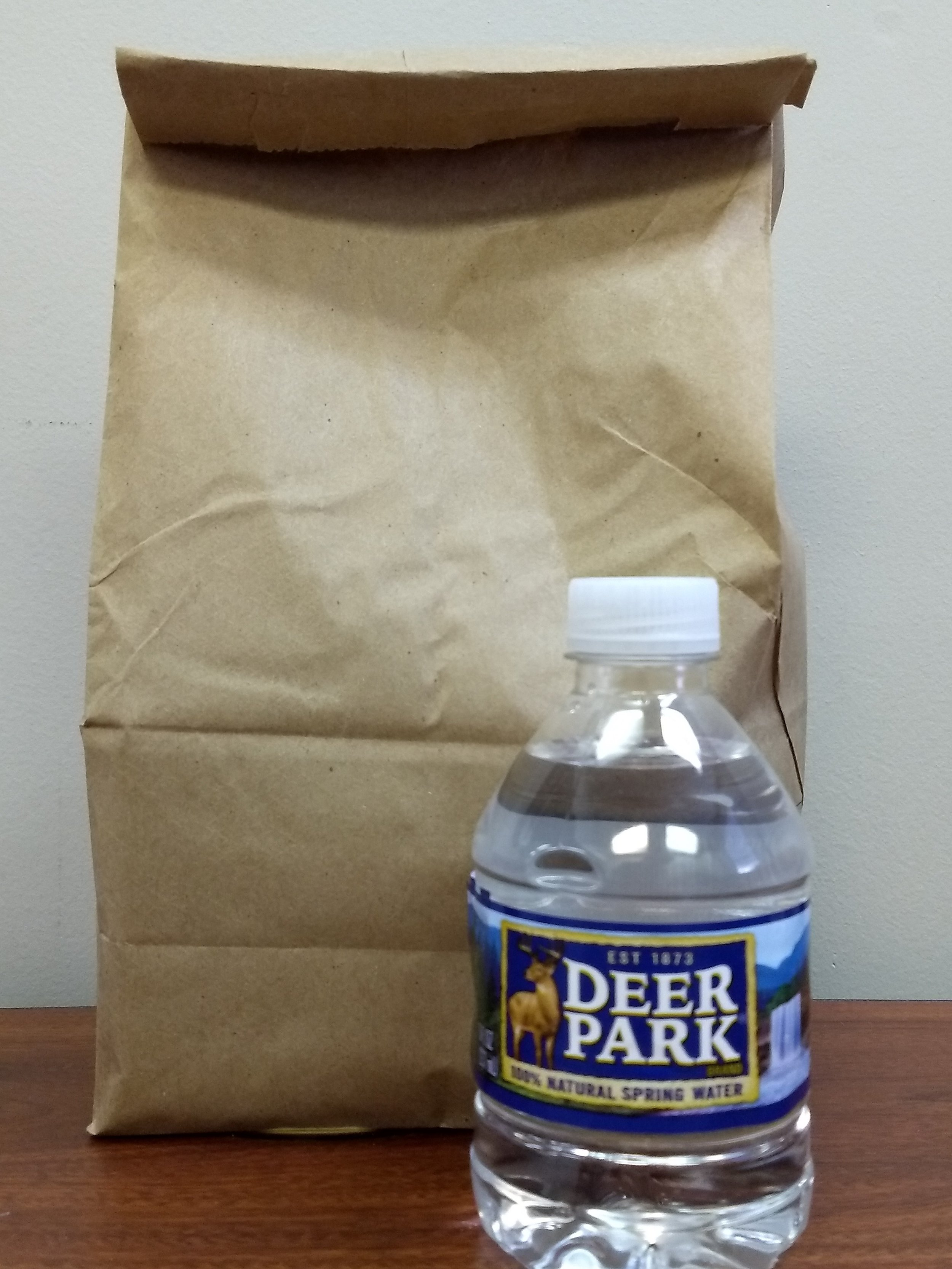 Sack Lunches for people that need one - Deer Park provides lunches every weekday for anyone that stops by the church and needs something to eat.