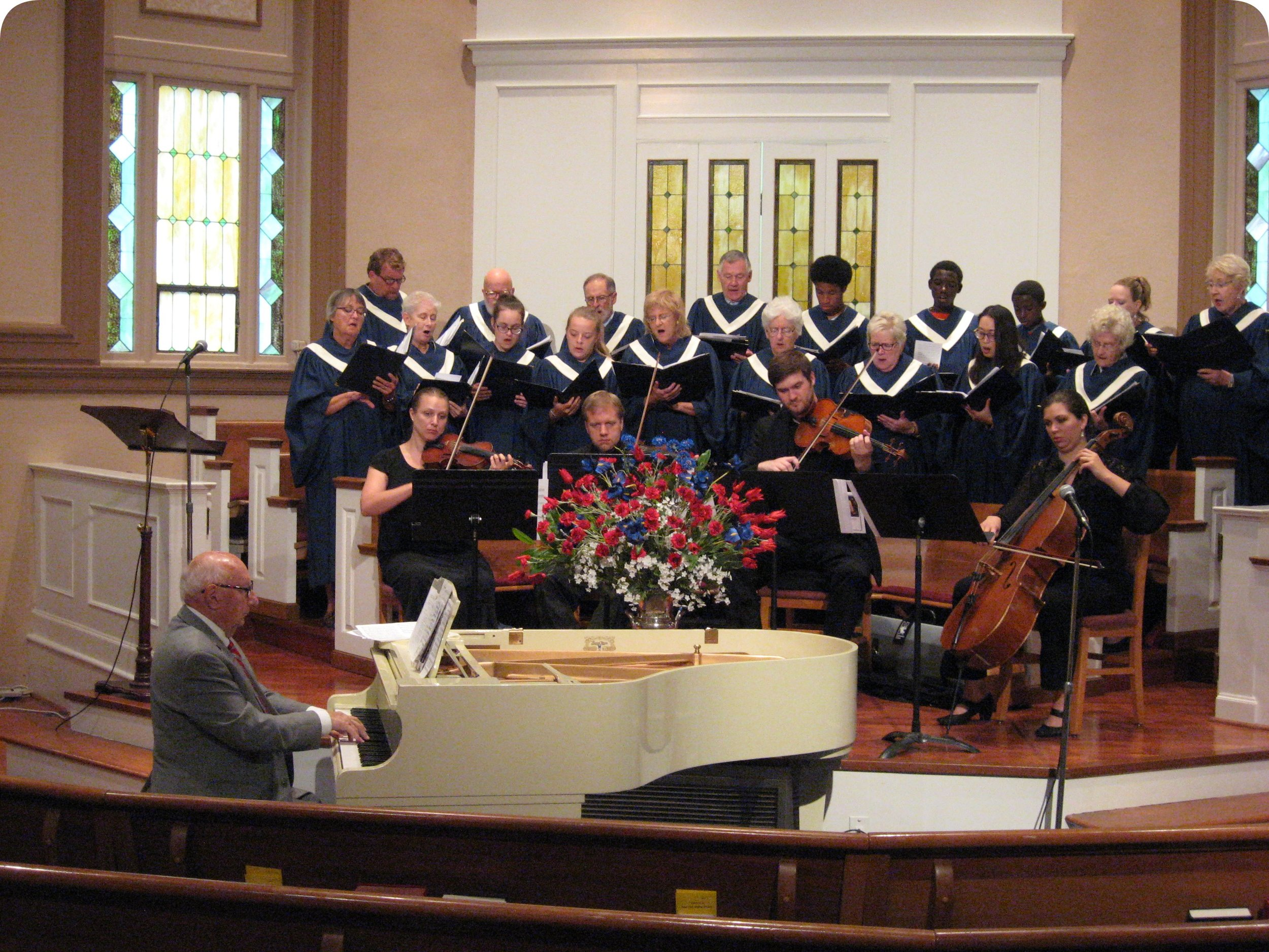 Music - The music ministry of Deer Park Baptist Church has a long, rich history, centering first on the musical needs of worship. The Chancel Choir and the organ often take the primary role is leadership during Sunday morning worship services. Worship music covers a wide gamut of styles, according to the gifts of those who participate in it.