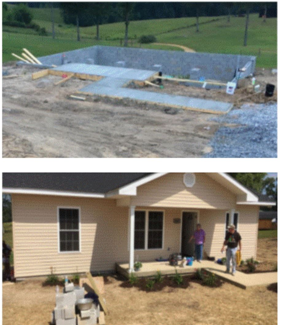 Extreme Build - Deer Park supports Extreme Build. Volunteers from churches all over Kentucky come to McCreary County in June to build a house in ten days. Sponsored by the Kentucky Baptist Fellowship, over 130 volunteers will construct a home to provide an affordable house for a family in need.