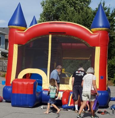 "Neighbors had a ""bouncy"" time at our Neighborfest 201 9!"