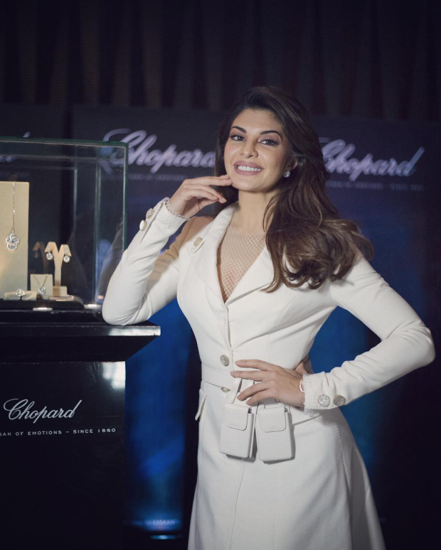 JACQUELINE FERNANDEZ - Jacqueline Fernandez in Cong Tri for Timekeepers x Chopard event
