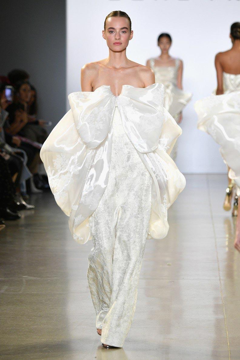 CATWALKS: WEDDING DRESS STYLE - 33 Wedding Worthy Looks from New York Fashion Week