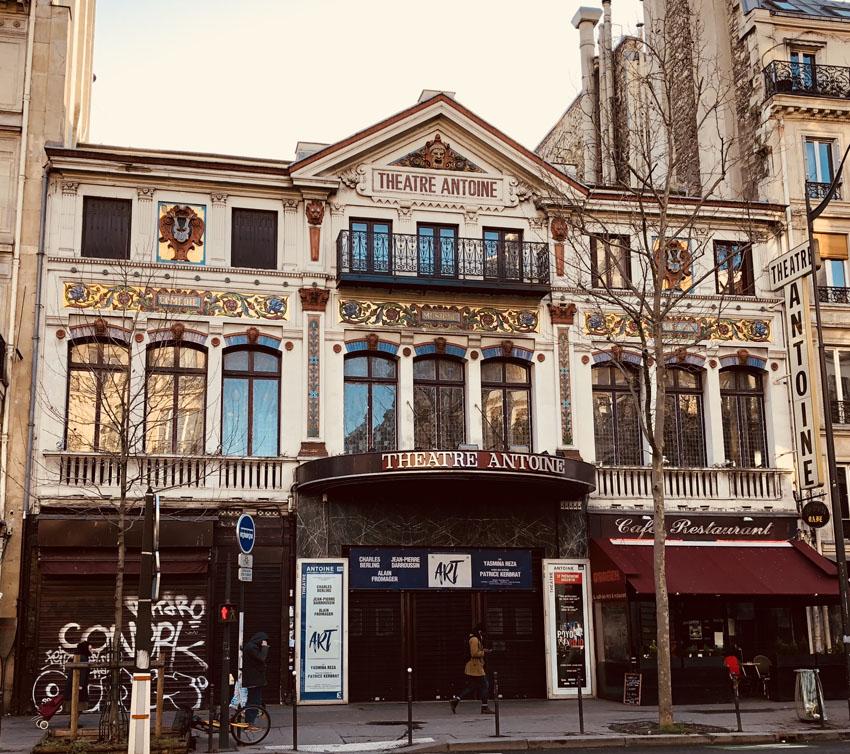 bd sebastopol et strasbourg 31. theatre antoinejpg