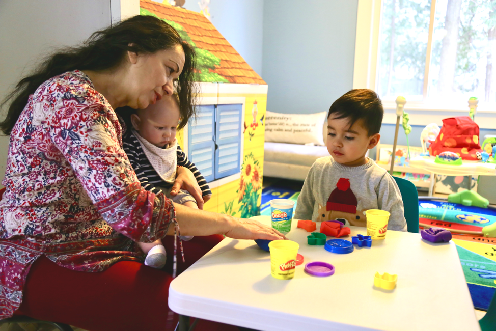 Home daycare provider with infants and toddlers in Dedham, MA
