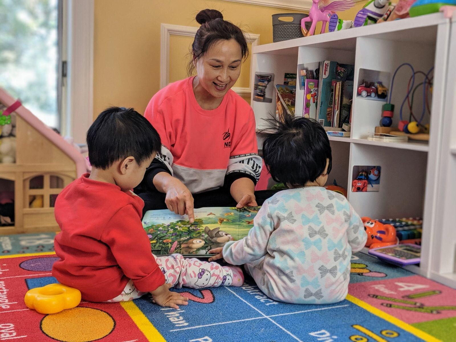 BeiBei Cub Daycare in Newton MA provides a loving environment for children - enrolling now!