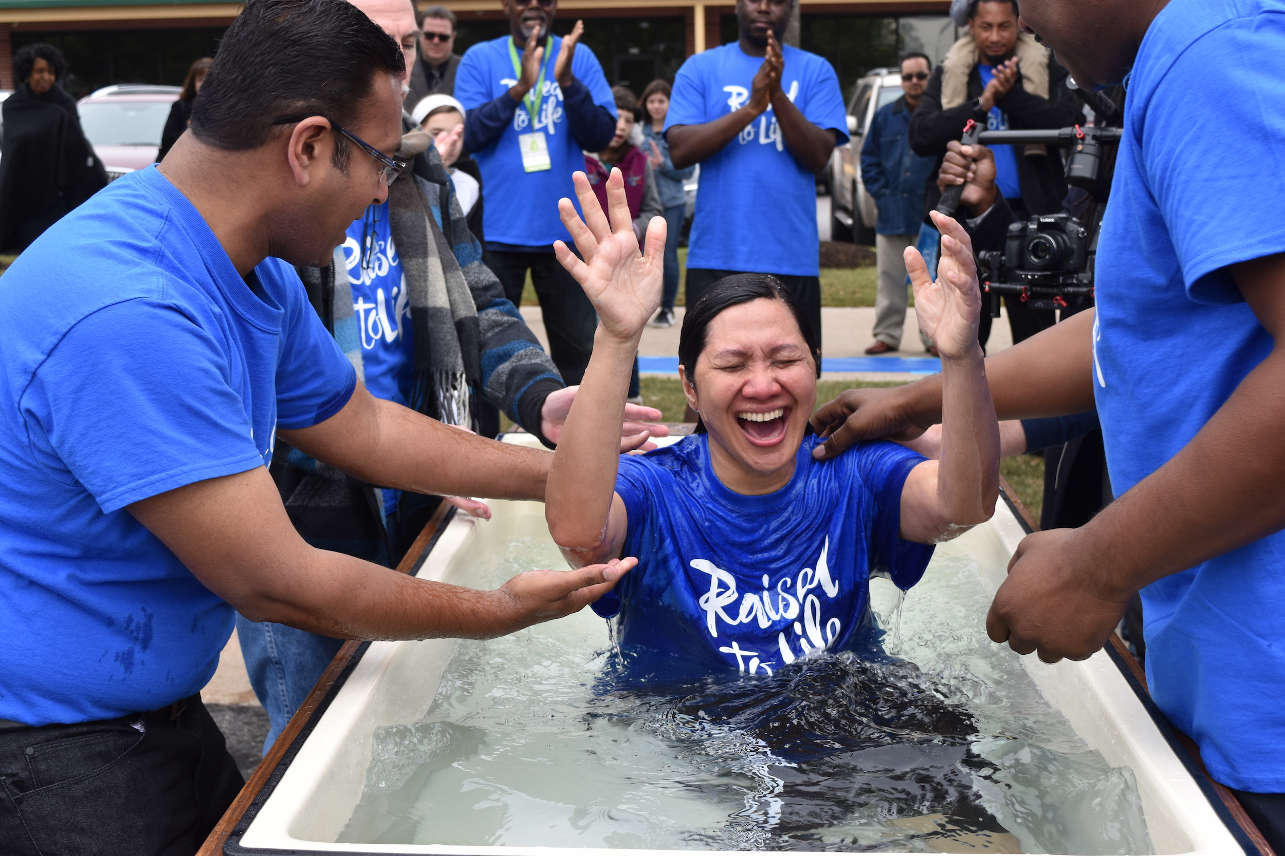 Baptism - Discover new life in Jesus Christ, as your sins are washed away in water baptism.