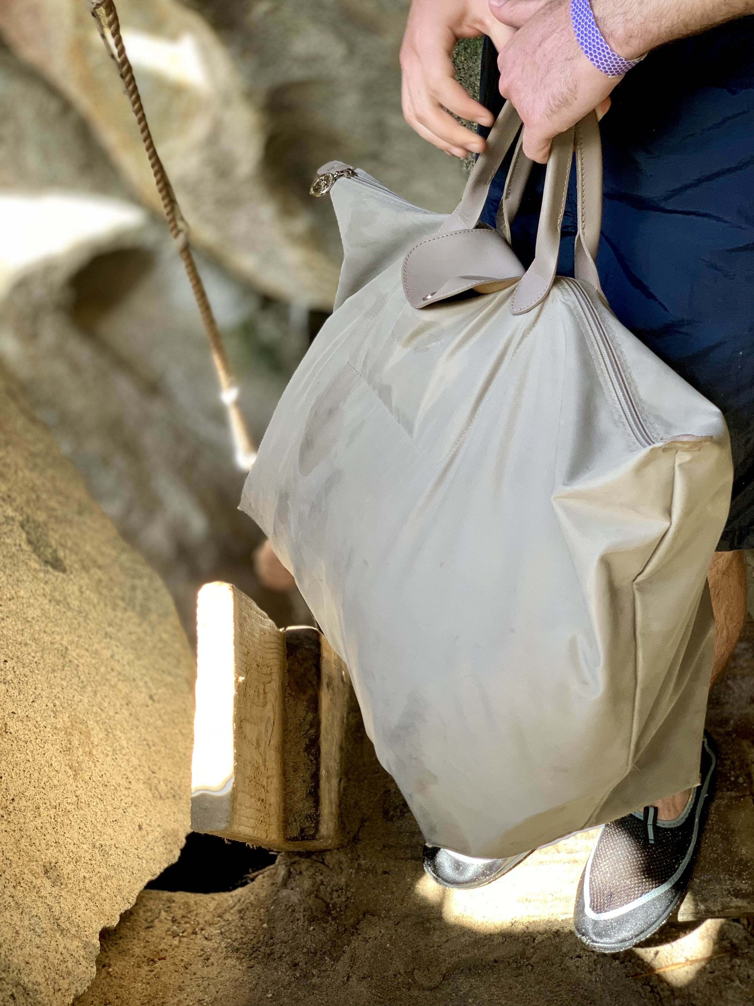Do not carry heavy bags and items, it will make your excursion very unpleasant.