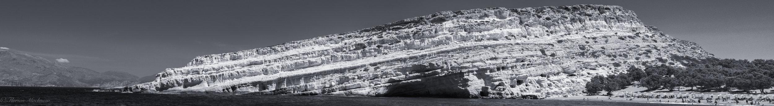 Die Höhlen von Matala