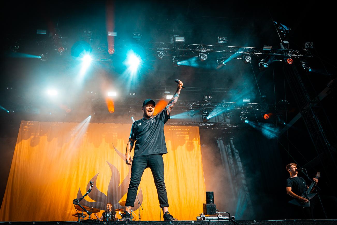 Bury Tomorrow live beim Full Force Festival 2019