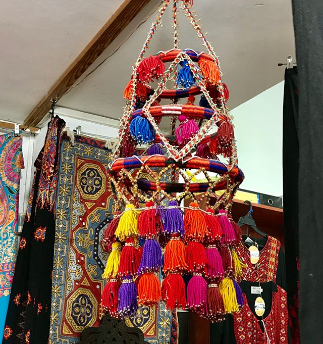 Bold & beautiful! Tassels can go with everything!  #interiorstyling #interiordecor #tassels #bohostyle #camels #jordan #israel #travel #boho #bohemiandecor
