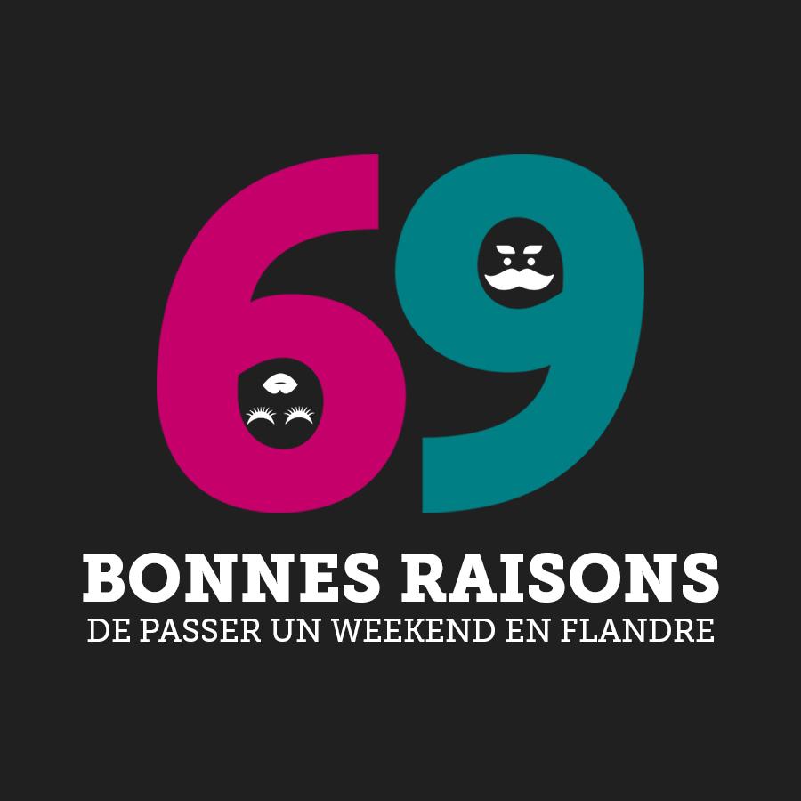 69 bonnes raisons de passer un week-end en Flandre
