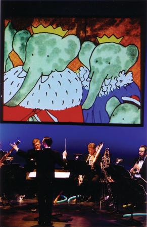 Alan R Kay conducting prior, non-HD production at Florence Gould Hall - photo: Jay Muhlin for Source Music, Inc.