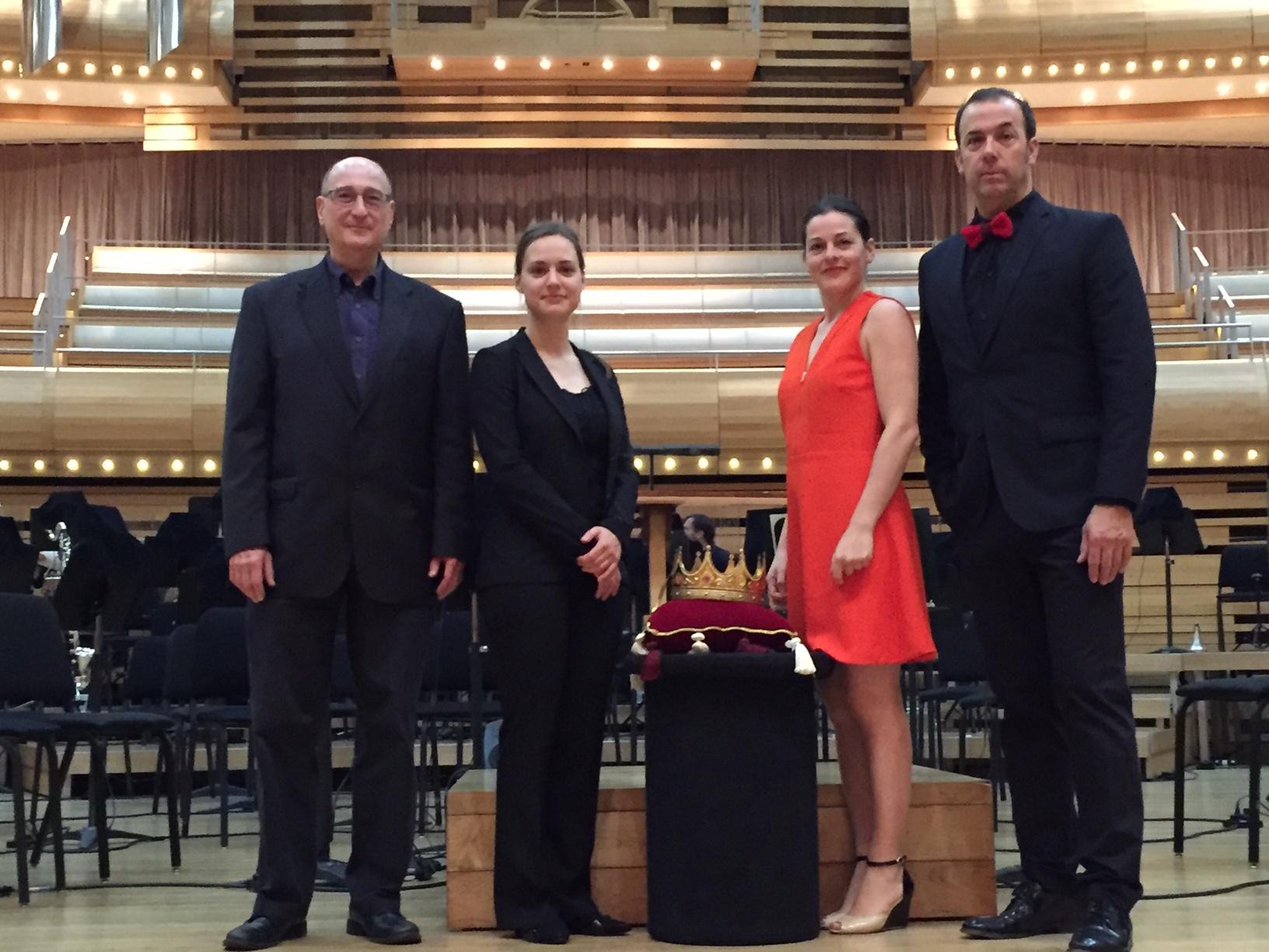 Orchestre symphonique de Montréal, composer Raphael Mostel, conductor Dina Gilbert, narrators Sophie Cadieux & Pierre Brassard - photo: Caroline Louis