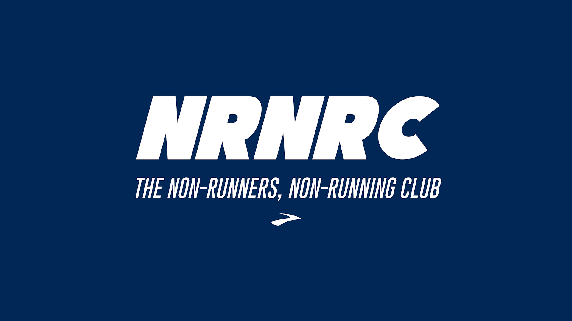 brooks - non-runners, non-running club