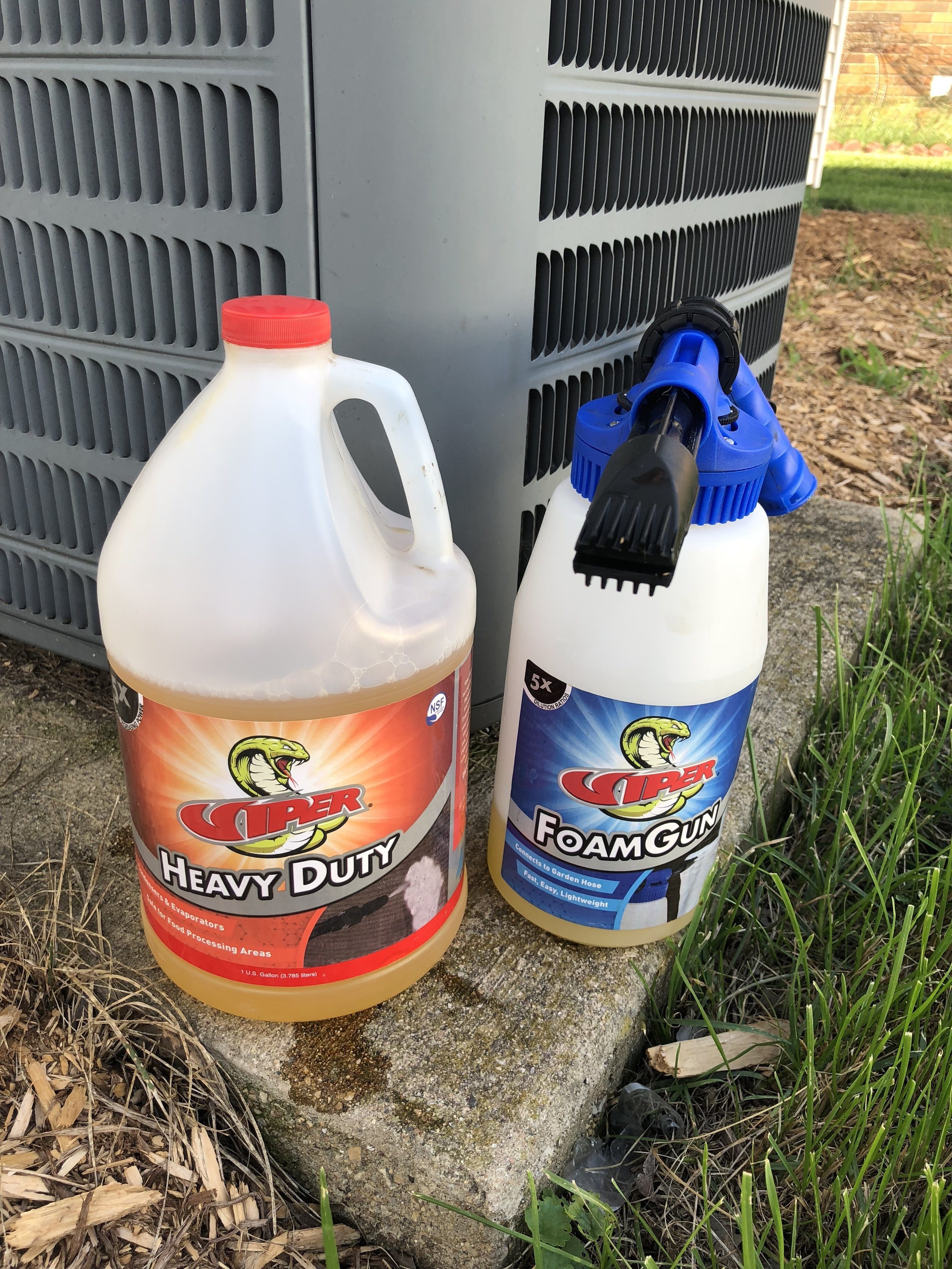Viper Cleaning Supplies for HVAC Maintenance