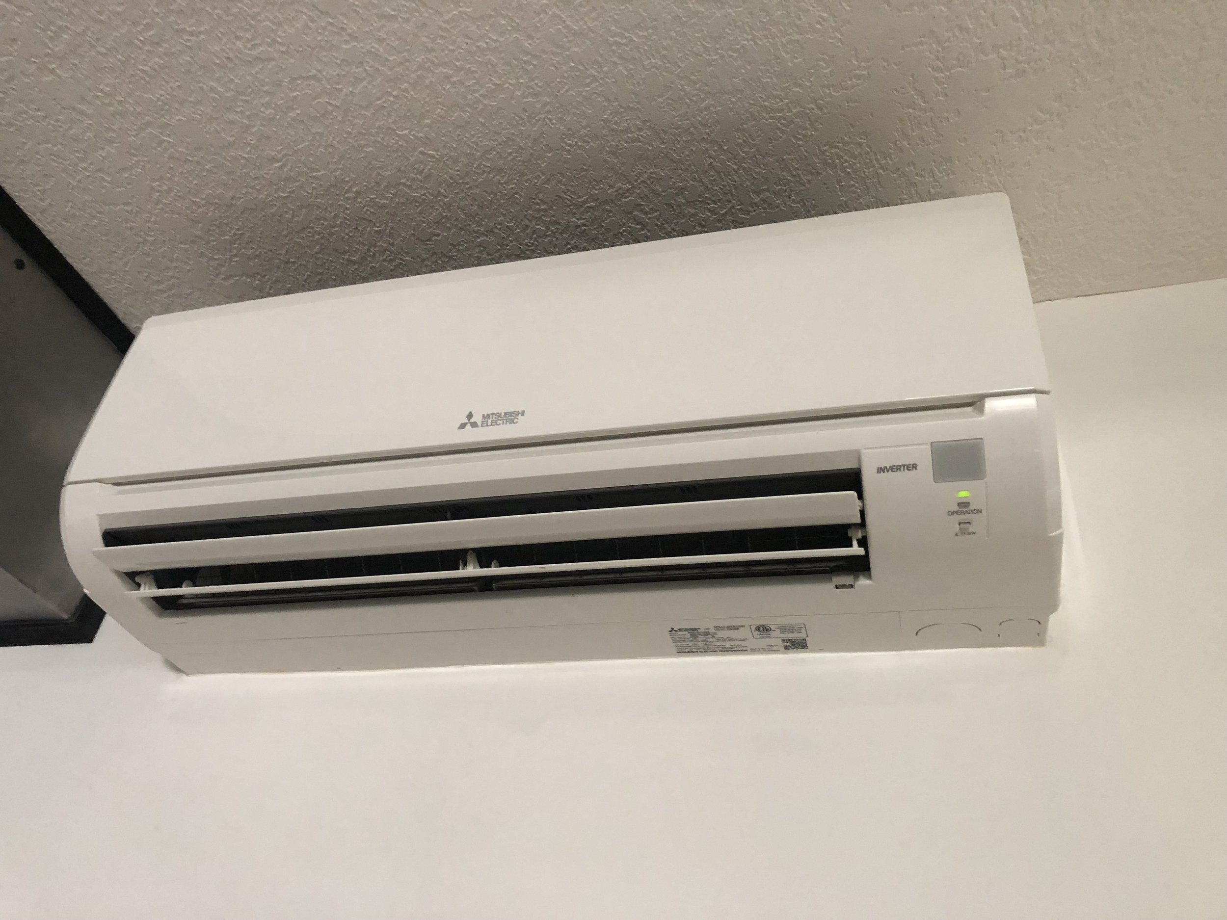 Mitsubishi Hyperheat HVAC Ductless System in New Construction Home Bourbonnais, IL 60914