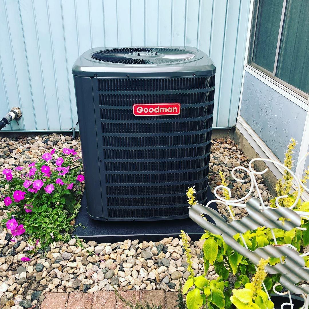 New Goodman Air Conditioner Installation
