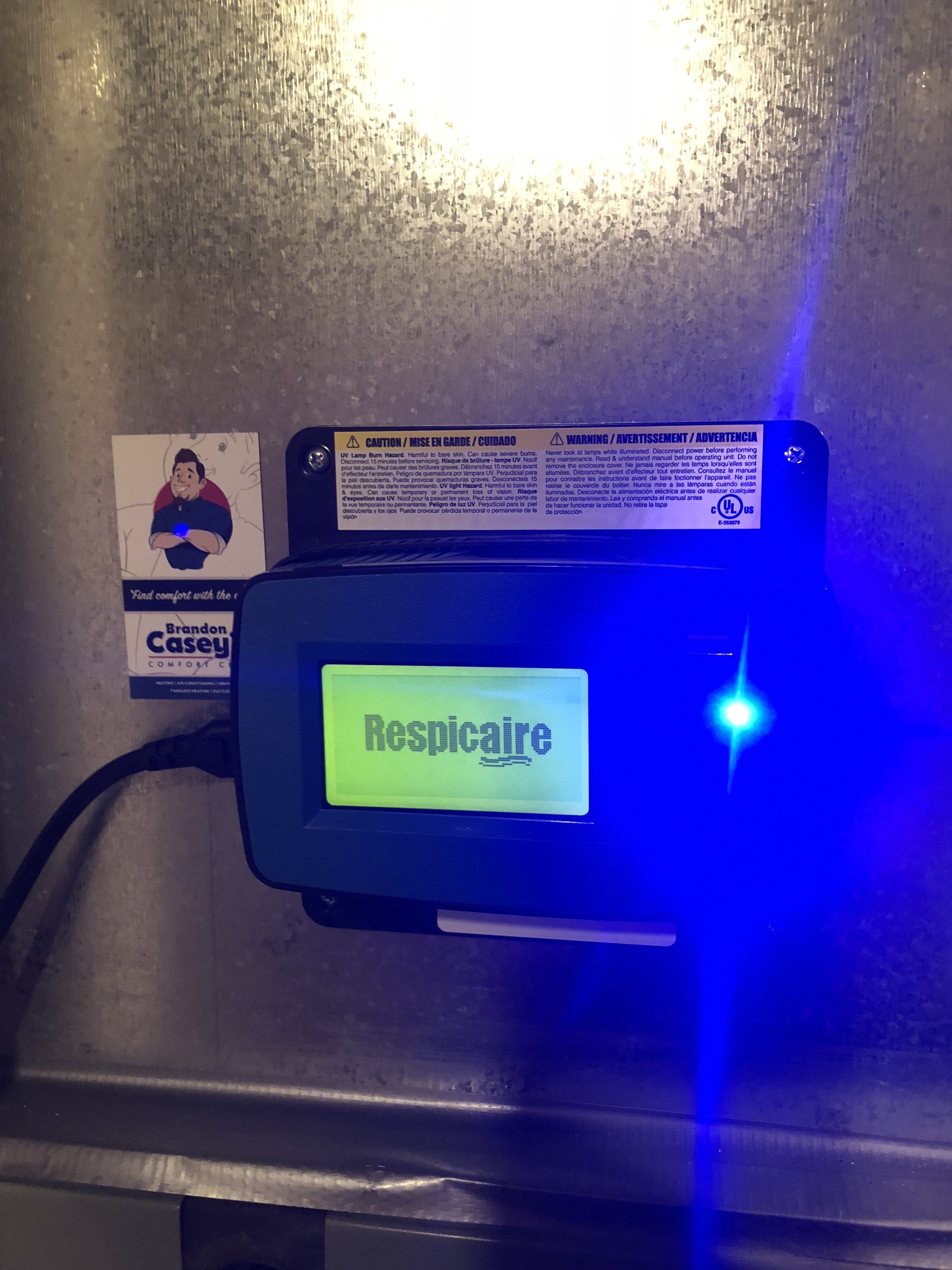 Respicaire Ultraviolet Light System