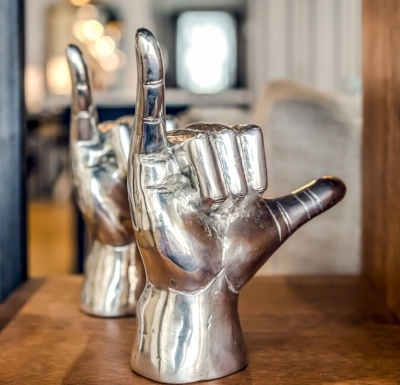 - Noir FurnitureHand Gesture Sculptures $120