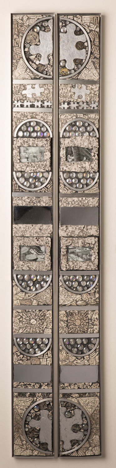 Puzzle Piece Diptych - Set of 2