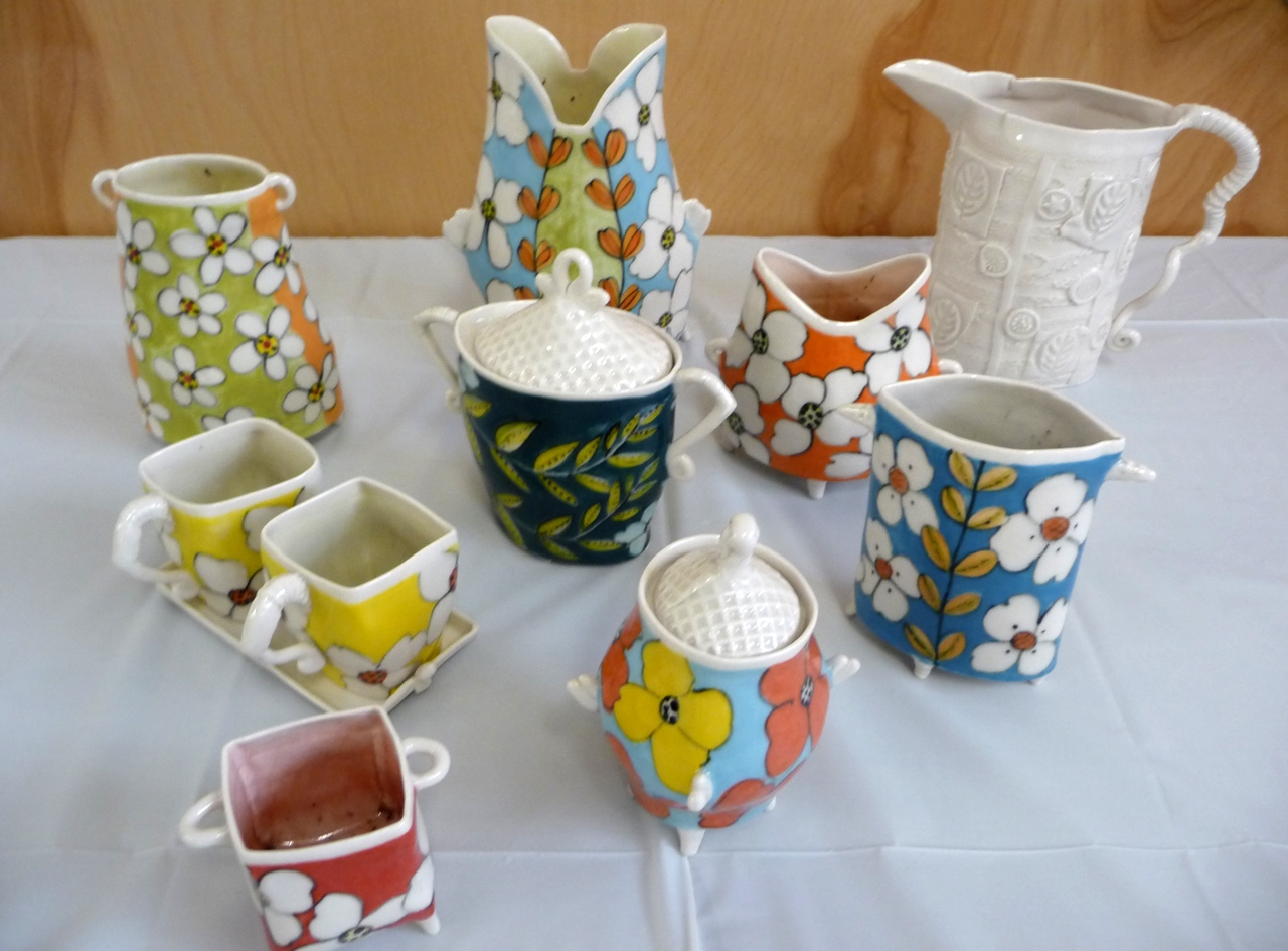 Some of Jerry`s pots