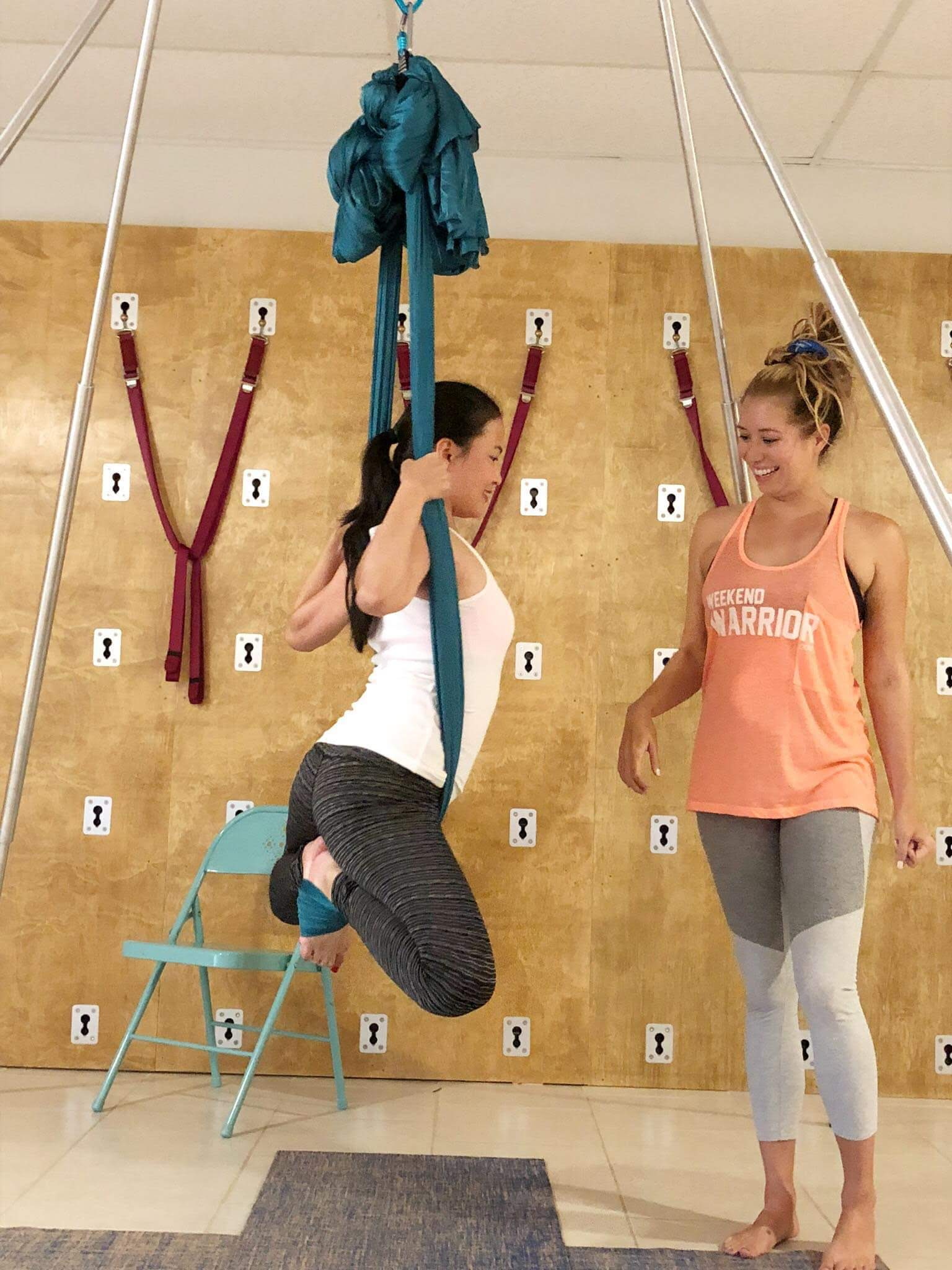 Aireal Yoga Private Lessons
