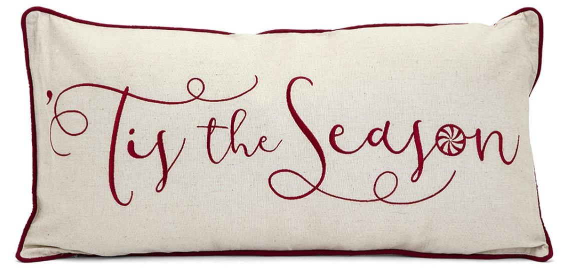 Embroidered Pillow, IMAX Worldwide Home
