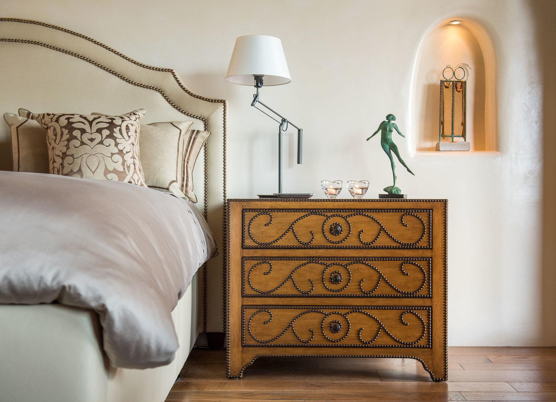 Carmen Bed and Maya Nightstand