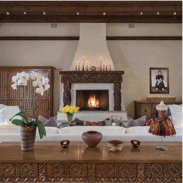 Santa Fe Home by  Diva Interiors