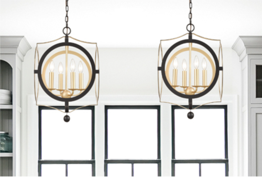 Odelle 4-Light Chandelier
