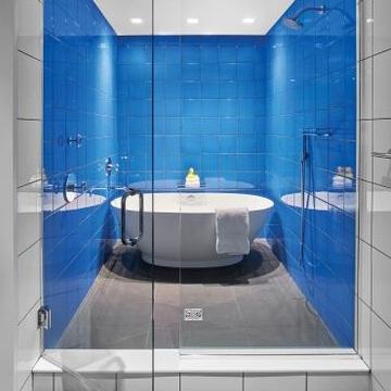 MTI BATHS ELISE FREESTANDING TUB    Deborah Berke Partners  for  21C Museum Hotel, Oklahoma City