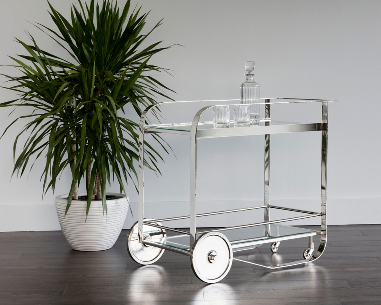 Darcy Bar Cart  by Sunpan