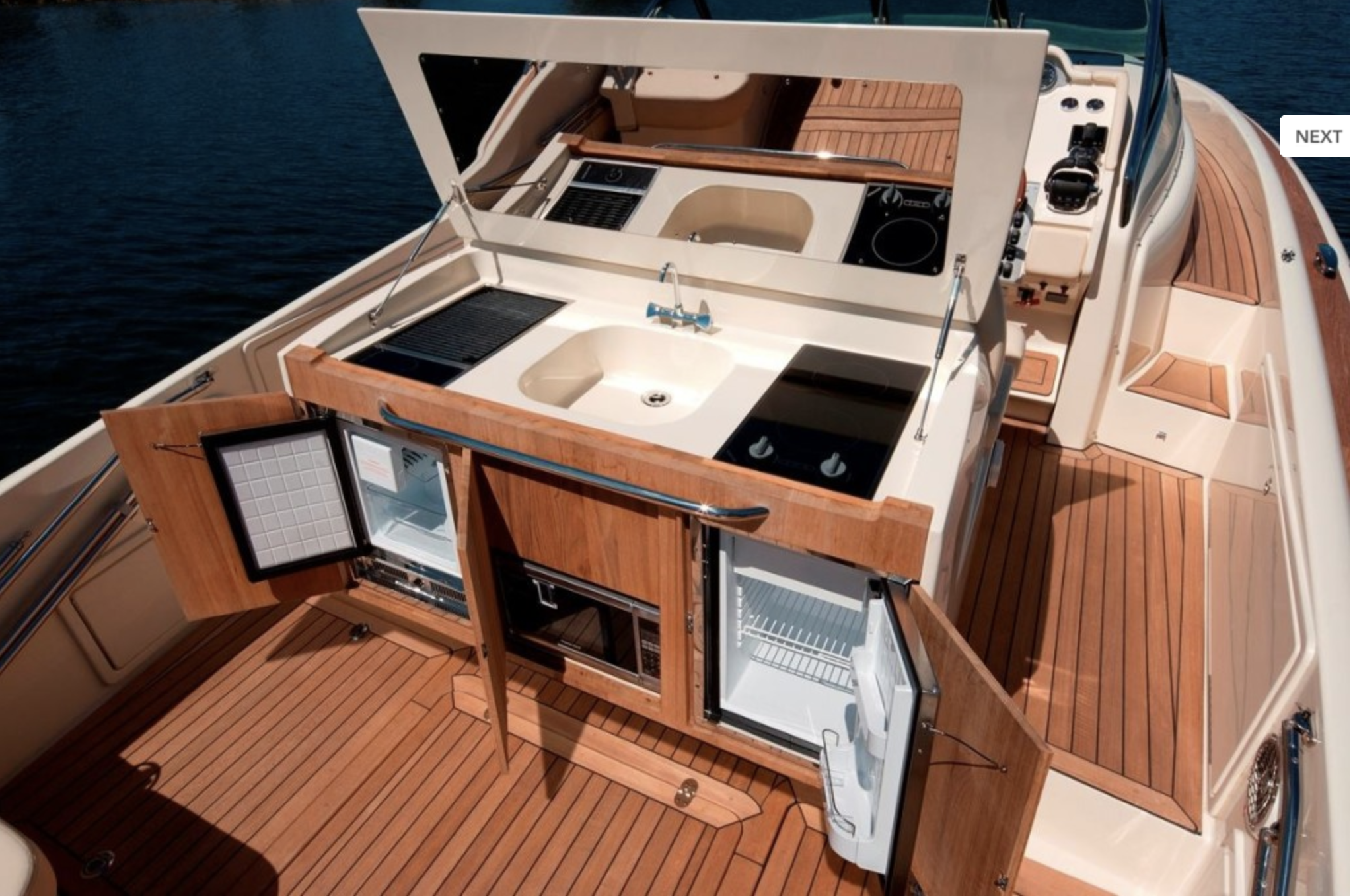 Ceramic cooktops  have been perfected for marine applications.