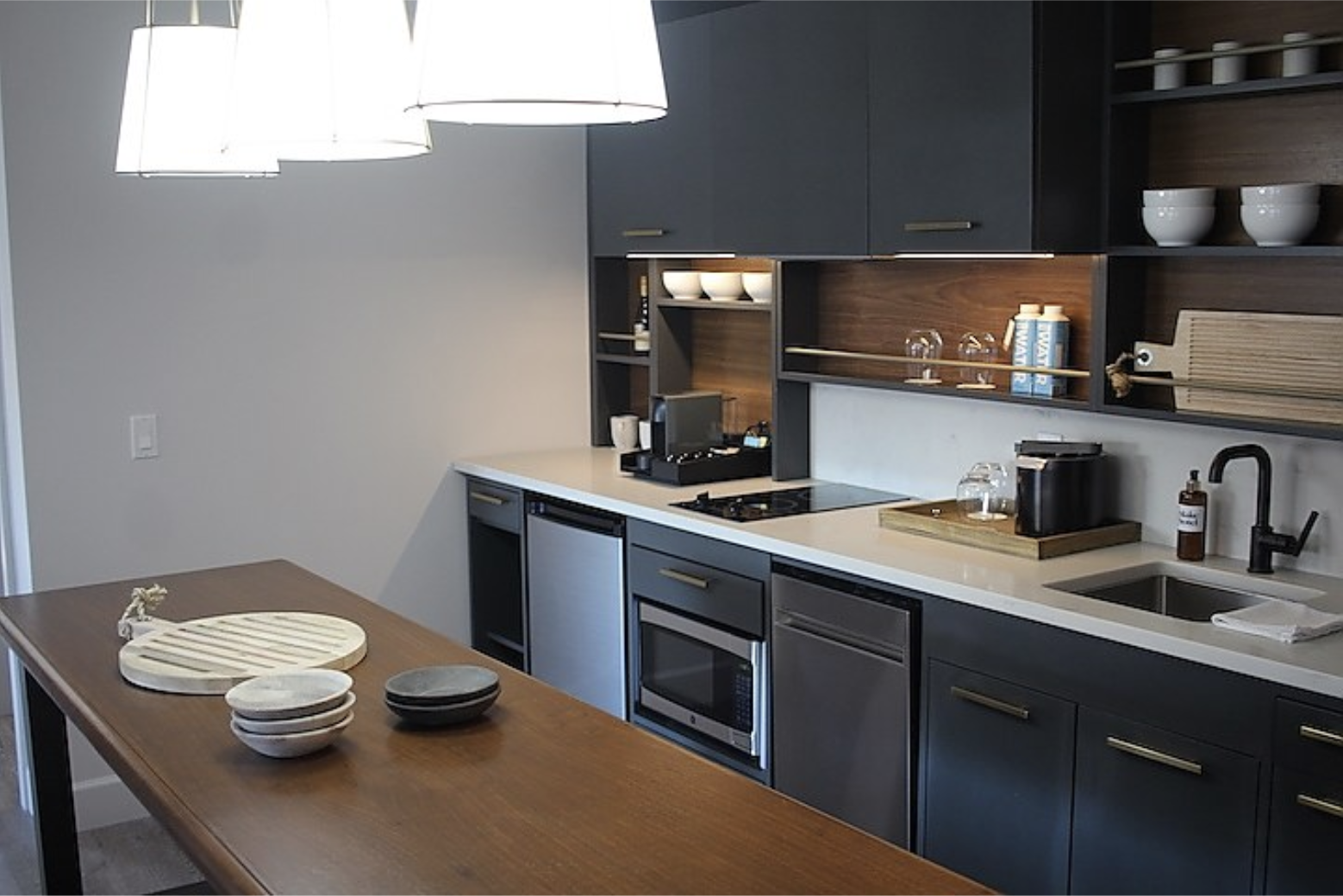 HVS Design  sourced  Kenyon 2-burner cooktops  for  the Haven Suites at the Blake Hotel . Photo Courtesy of  The Blake Hotel.