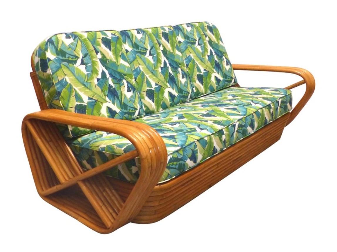 Paul Frankl Pretzel Sofa. Photo courtesy of  1stdibs