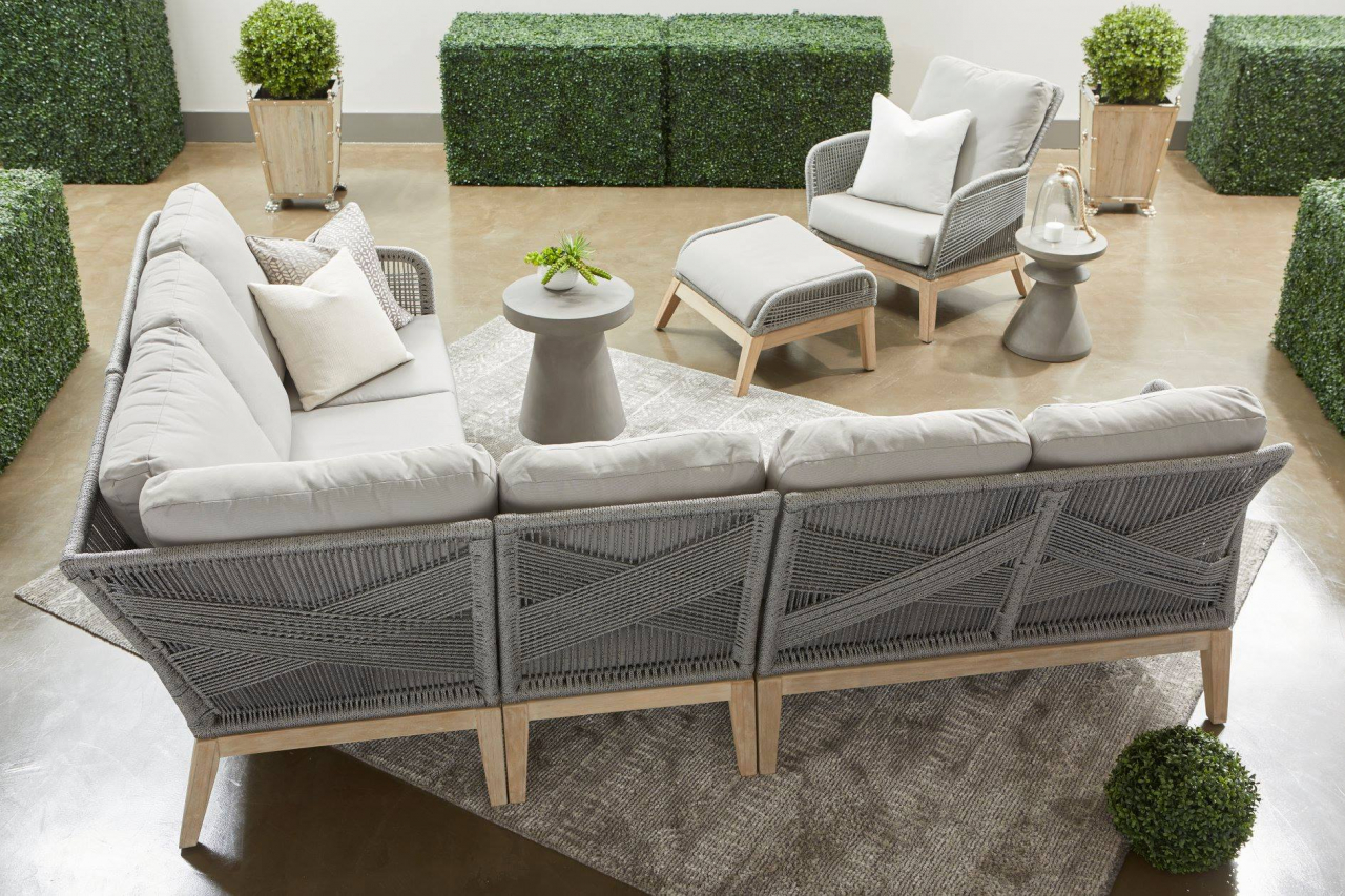 ESSENTIALS FOR LIVING  Loom Sectional